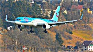 Incredible Planespotting at Innsbruck Airport, Austria | 13/01/18