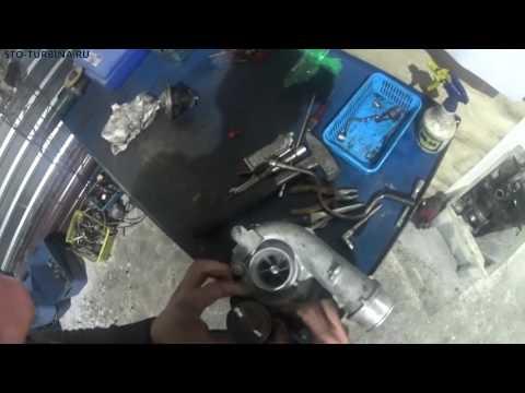 Мазда CX-7 замена картриджа турбокомпрессора