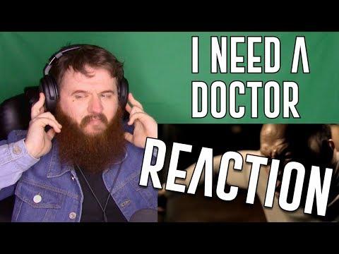 Dr. Dre - I Need A Doctor (Explicit) Ft. Eminem, Skylar Grey - REACTION! I LOVE THIS!