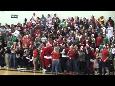 """Silent night"" at Western Michigan Christian basketball game"