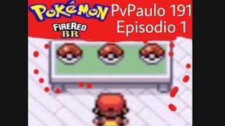 Jogando Pokemon Fire Red-A escolha de um Pokemon-(Episodio 1)