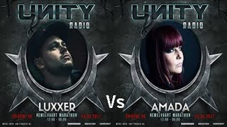 Video Luxxer Vs Amada - live @ Unity Hardcore - State of Mind download MP3, 3GP, MP4, WEBM, AVI, FLV November 2017