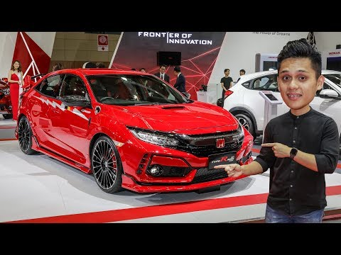 QUICK LOOK: FK8 Honda Civic Type R Mugen Concept in Malaysia