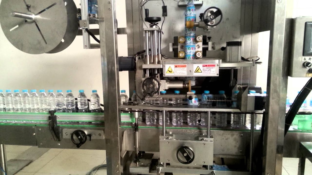 Shrink Sleeve Label Printing Machine For Plastic Bottles
