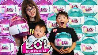 LOLサプライズ 世界中で大人気!LOL SURPRISE!バスボム タマゴ おもちゃ 人形