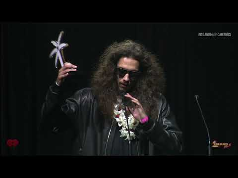 Island Music Awards - Landon McNamara 2 Award Speeches & Backstage!
