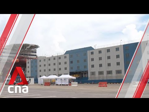 COVID-19: More than 30 foreign workers moved to floating accommodation