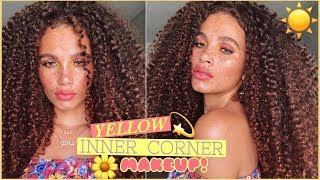 HAWT GIAL SUMMA MAKEUP  |  EASIEST WAY TO ADD A YELLOW POP!!!!!