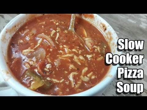 Slow Cooker Pizza Soup Recipe | Episode 301