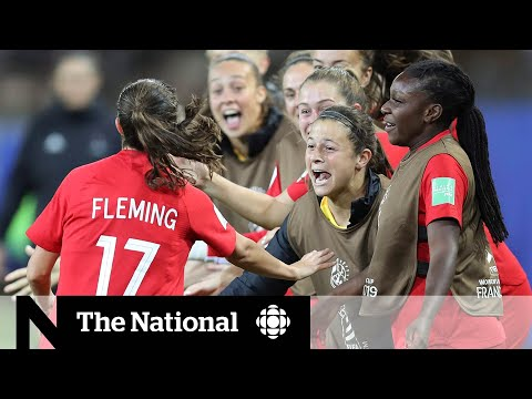 Canada makes history after beating U.S. in women's soccer
