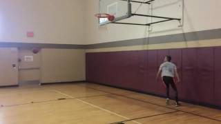 6'1 Isaiah Rivera Dunk Session :: Almost Head At Rim Video