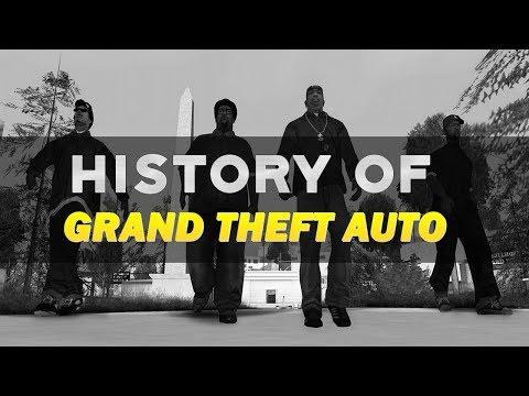 History of Grand Theft Auto (1997-2015)