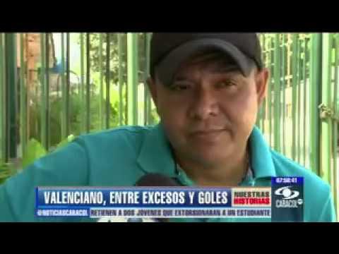 Iván René Valenciano, una vida llena de sueños, excesos y goles