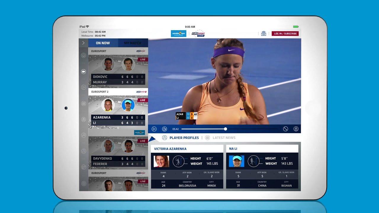 Australian Open Eurosport