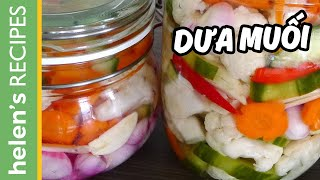 Vietnamese Pickled Vegetables - Dua chua / Do chua
