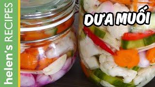 Vietnamese Pickled Vegetables - Dua Chua / Do Chua