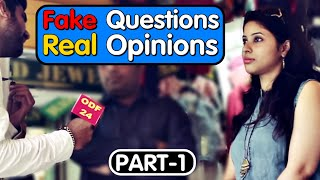 Fake Questions Real Opinions - Part 1 || Sex Age || Sunny Leone Intimate scene || Chicken-Beef Ban