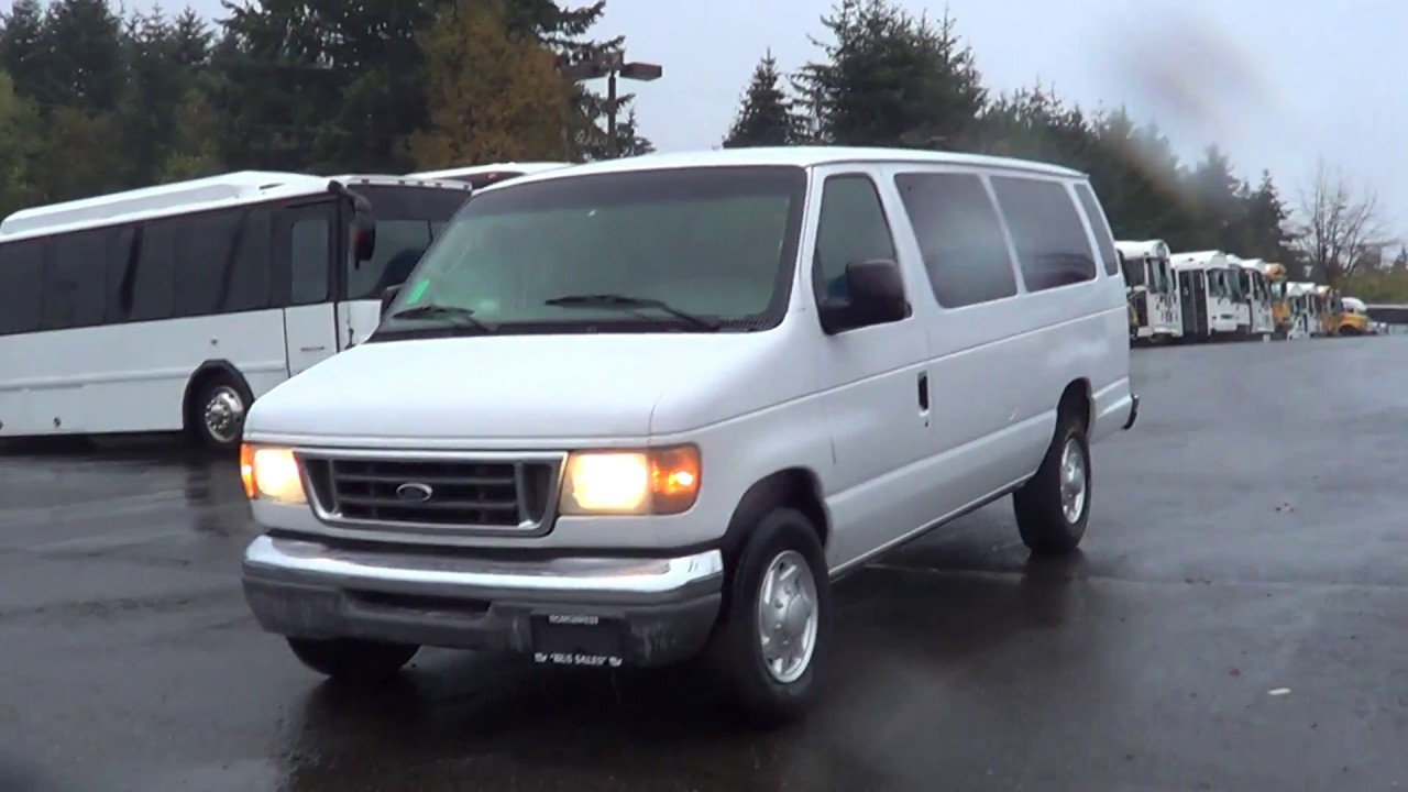 2003 ford e 350 van 14 passenger van s79660 youtube. Black Bedroom Furniture Sets. Home Design Ideas