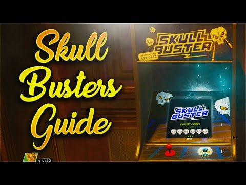 SHAOLIN SHUFFLE SKULL BUSTERS TUTORIAL - GHOSTS N SKULLS 3 (Infinite Warfare Zombies Guide)