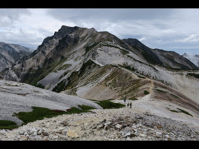夫婦で登る日本百名山 2016年9月 白馬岳