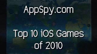 Top 10 iOS Games of 2010 - AppSpy.com