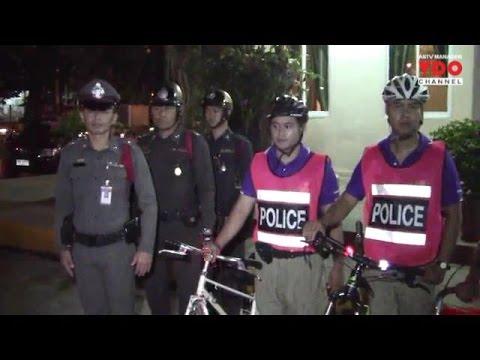 ตร.เชียงใหม่ปั่นจักรยาน ตรวจเข้มแหล่งเที่ยวชาวจีน ตั้ง 11 ด่านตรวจทางเข้าเมืองทุกทิศ