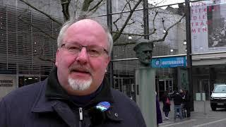 BI Gutenberg-Museum / Bibelturm / Statement Herr Moseler
