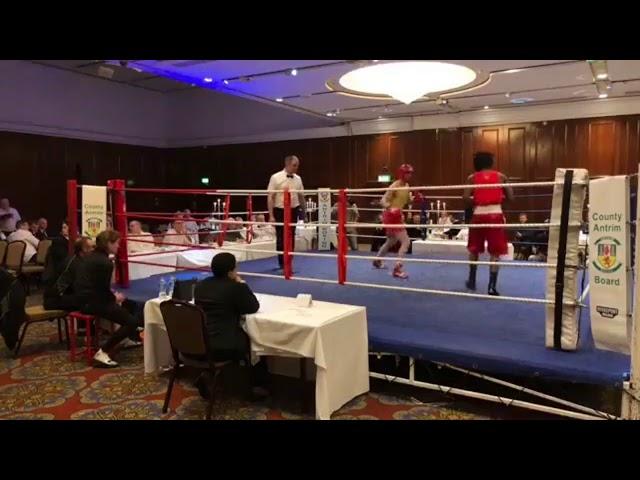2018 County Antrim Belfast Boxing Classic - Fight 12