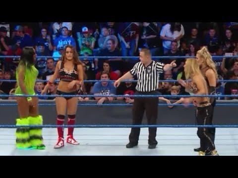 Download Naomi & Nikki Bella vs Natalya & Carmella