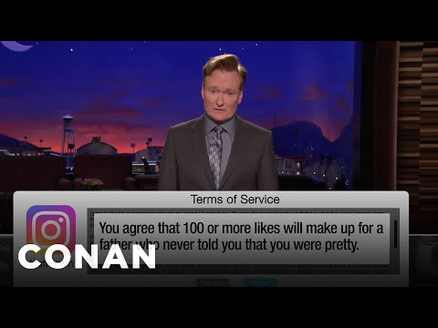 Terms Of Service: Tinder, Instagram Edition- CONAN on TBS