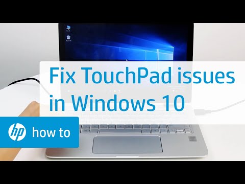 How to Fix the TouchPad on HP Notebooks in Windows 10