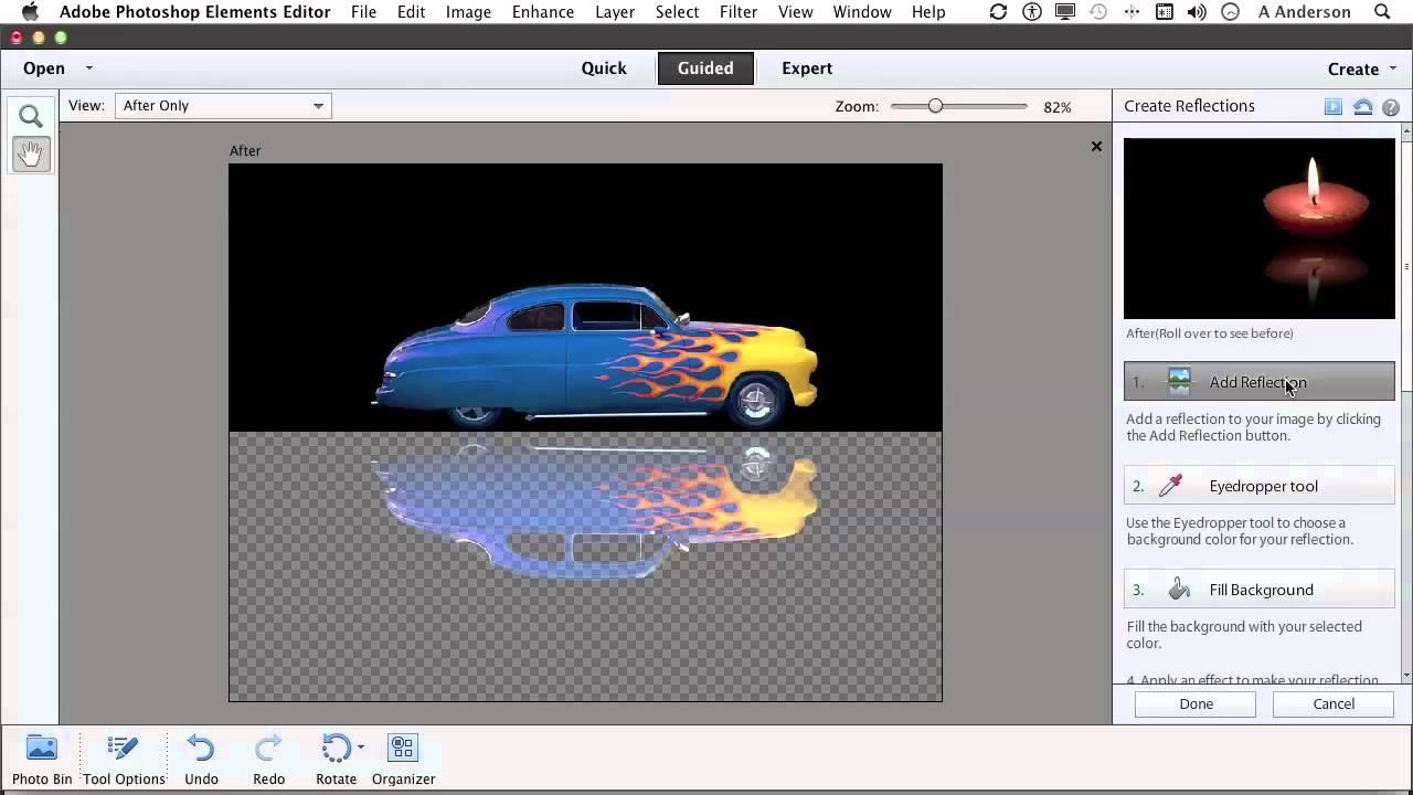 Photoshop elements 11 tutorial creating a reflection youtube photoshop elements 11 tutorial creating a reflection baditri Choice Image