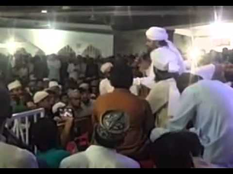 Shaha Dulha Bana Aj ki Rat hai by Qibla Owais Raza Qadri Sb 16 may  mehfil meraj 2015