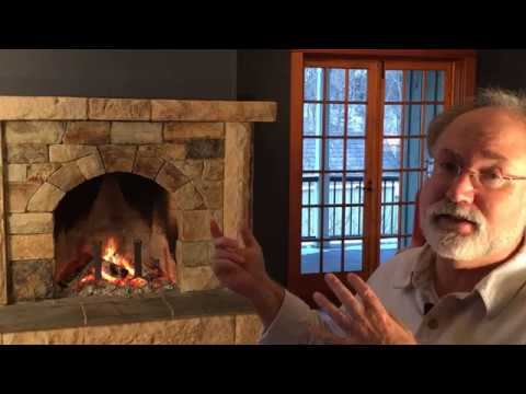"""Handmade House TV # 9 """"The Perfect Stone Fireplace--Design Considerations"""""""