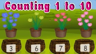 The WooPeDoops Learn to Count Numbers 1 to 12 - Math for Kids Learning Kids Preschool & Kindergarten
