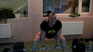 становая тяга, техника выполнения упражнения
