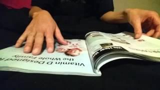 ASMR 3 new cooking magazines