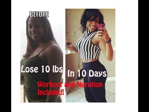 lose 10 pounds in 10 days full workout included  youtube