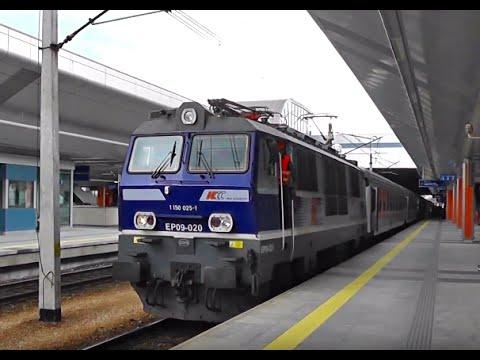 Stacja Kraków Główny i kilka ujęć składów IC/EIP/PR