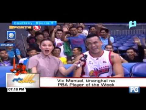 Vic Manuel, tinanghal na PBA Player of the Week