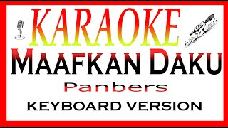 karaoke lagu maafkan daku panbers