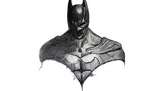 Как нарисовать Бэтмена. How to draw Batman.(В этом видео я показываю как я рисую Бэтмена. А ты сможешь нарисовать Бэтмена? Страница в контакте http://vk.com/id15..., 2015-01-12T13:35:38.000Z)