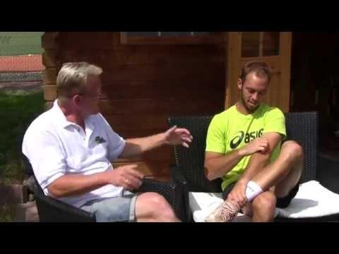 Interview mit Tim Pütz nach Wimbledon auf heimischem UTHC Rasen - Tennisprofi Portrait