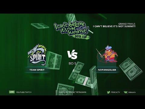 Grand Finals [RU] NoPangolier vs Team Spirit | Bo5 | I Can't Believe It's Not Summit! by @Tekcac thumbnail