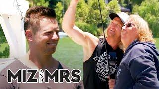 The Miz Is Third Wheeling Time With His Dad [HIGHLIGHT]   Miz & Mrs   USA Network