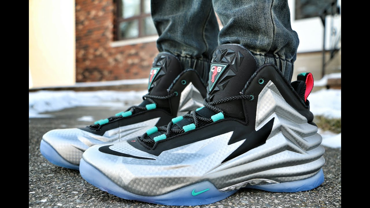 low cost e437a 0d754 Nike Chuck Posite Metallic Silver - On Foot