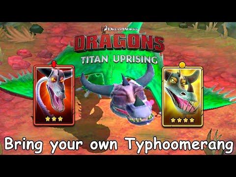 Dragons: Titan Uprising / Bring Your Own Typhoomerang / BP 7400+ / Gameplay (Android, iOS)