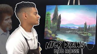 Following A Bob Ross Turtorial l Nick Draws