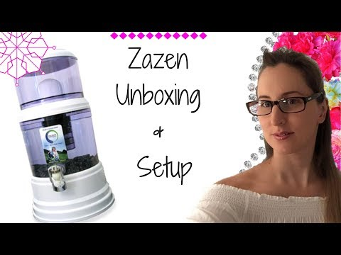 Zazen Water Filter System Unboxing and Setup