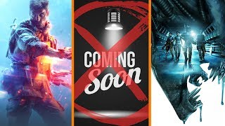 Battlefield V Beta Details + Vague Marketing Banned + A Typo Ruined Aliens: Colonial Marines?